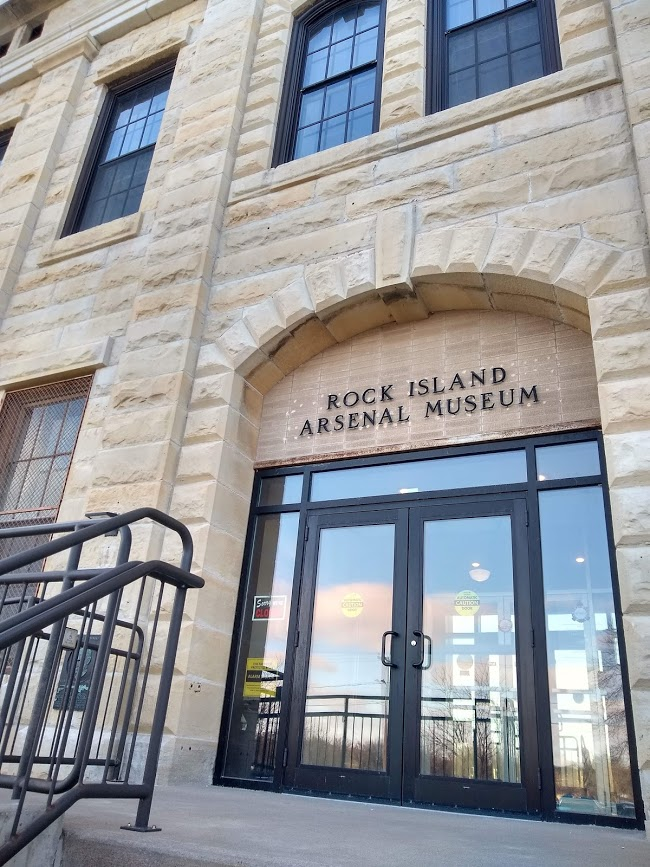 Facade of the Rock Island Arsenal Museum